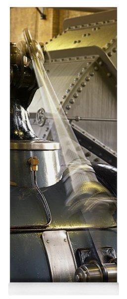 Woudagemaal Steam Engine. Yoga Mat