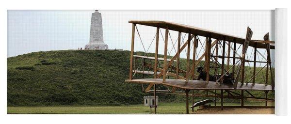 Wright Brothers Memorial At Kitty Hawk Yoga Mat