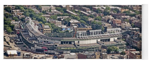 Wrigley Field - Home Of The Chicago Cubs Yoga Mat