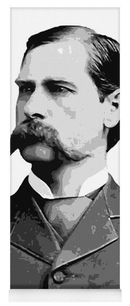 Wyatt Earp Legend Of The Old West Yoga Mat