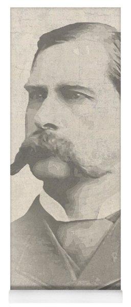 Wyatt Earp U. S. Marshal Yoga Mat