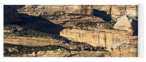Yampa River Canyon In Dinosaur National Monument Yoga Mat
