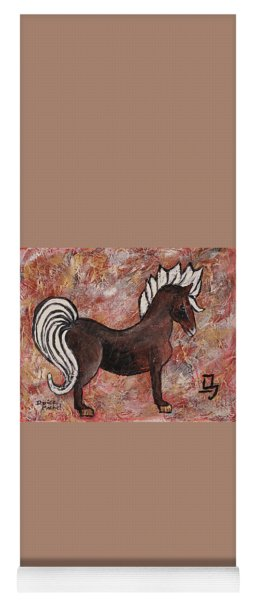 Year Of The Horse Yoga Mat