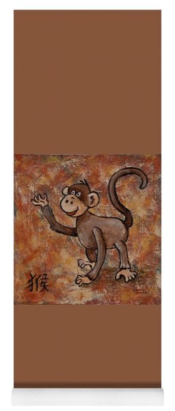 Year Of The Monkey Yoga Mat