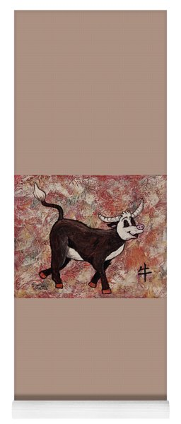 Year Of The Ox Yoga Mat