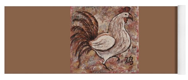 Year Of The Rooster Yoga Mat