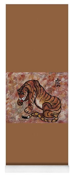 Year Of The Tiger Yoga Mat
