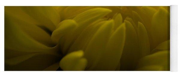 Yellow Mum Yoga Mat