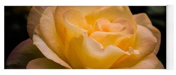 Yellow Ray Of Sunshine Yoga Mat