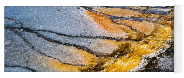 Yellowstone Abstract Yoga Mat
