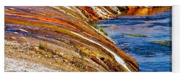 Yellowstone Earthtones Yoga Mat