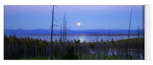 Yellowstone Moon Yoga Mat