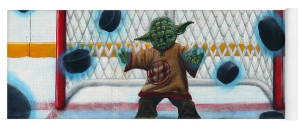 Yoda Saves Everything Yoga Mat