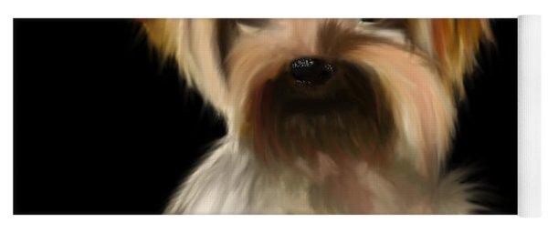 Yorkshire Terrier Pup Yoga Mat