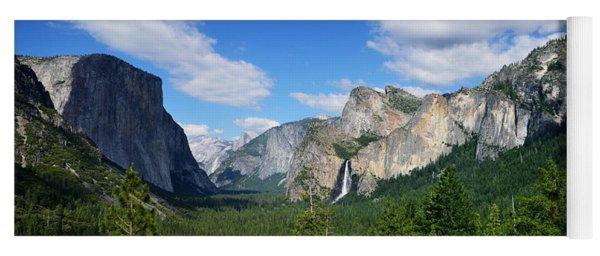 Yosemite National Park Yoga Mat