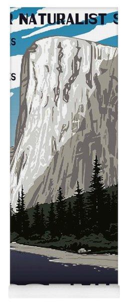 Yosemite National Park Vintage Poster 2 Yoga Mat