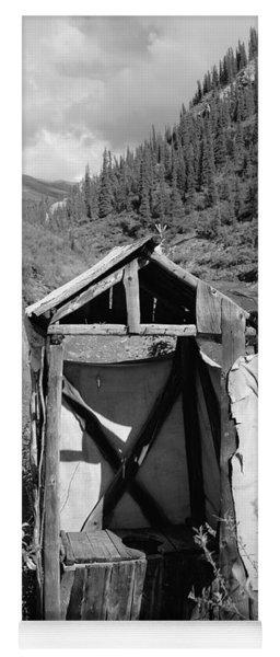 Yukon Alaska Outhouse Yoga Mat