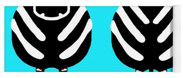 Zebra - Both Ends Yoga Mat