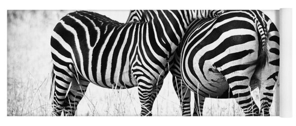 Zebra Love Yoga Mat