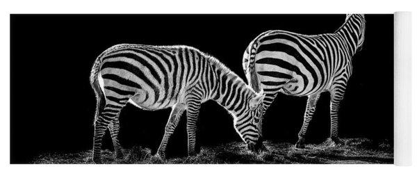 Zebra's  Yoga Mat