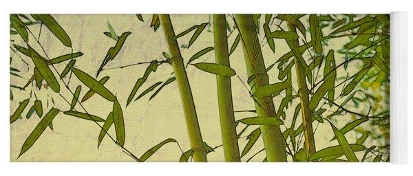 Zen Bamboo Abstract I Yoga Mat