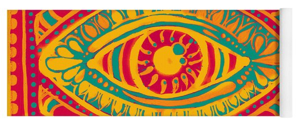Zesty Gypsi Eye Yoga Mat