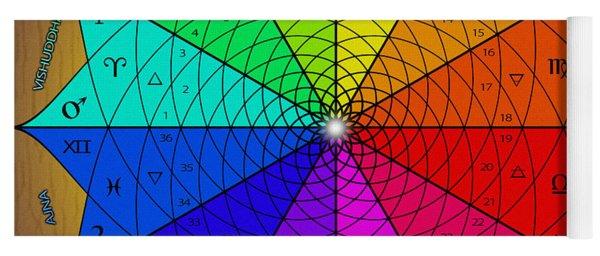 Zodiac Color Star Yoga Mat
