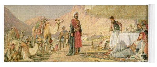 A Frank Encampment In The Desert Of Mount Sinai Yoga Mat