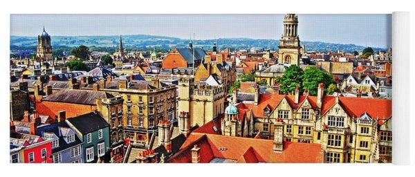 Oxford Cityscape Yoga Mat