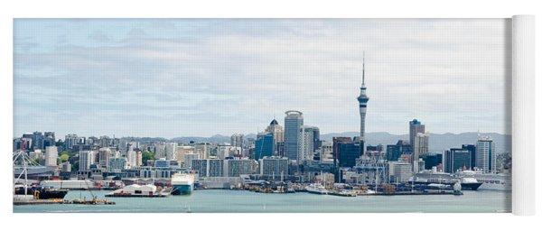 Auckland City New Zealand Yoga Mat