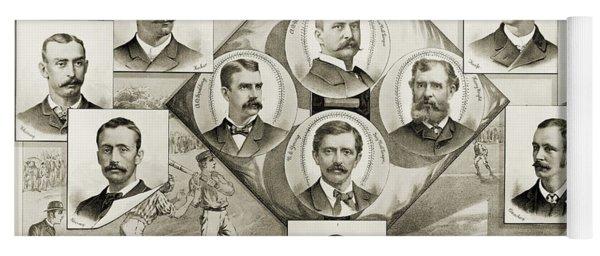 Baseball, 1894 Yoga Mat