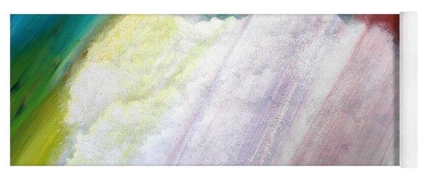Cloud Within Rainbow Yoga Mat