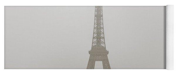 Foggy Morning In Paris Yoga Mat