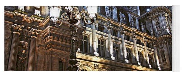 Hotel De Ville In Paris Yoga Mat