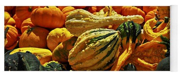 Pumpkins And Gourds Yoga Mat