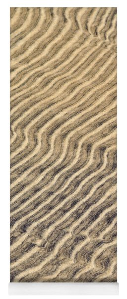 Sand Ripples In Shallow Water Yoga Mat
