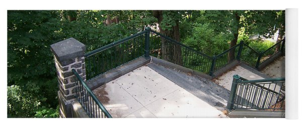 100 Steps At The Wissahickon Yoga Mat