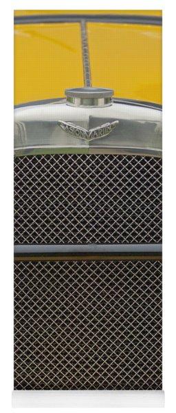 1928 Aston Martin T-type Bertelli Short-chassis Sports Grille Yoga Mat