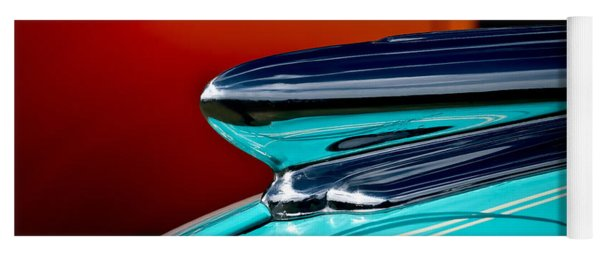 1948 Chevy Hood Ornament Yoga Mat