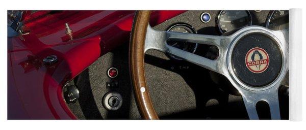 1965 Ac Cobra Steering Wheel 3 Yoga Mat