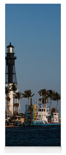 Hillsboro Inlet Lighthouse Yoga Mat