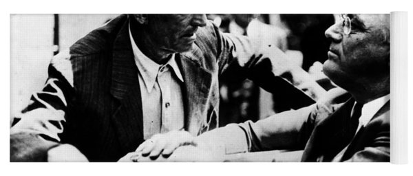 Franklin D. Roosevelt Yoga Mat