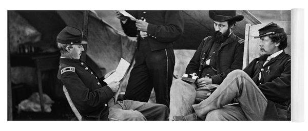 Civil War: Union Officers Yoga Mat