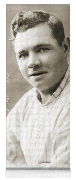 George H. Ruth (1895-1948) Yoga Mat