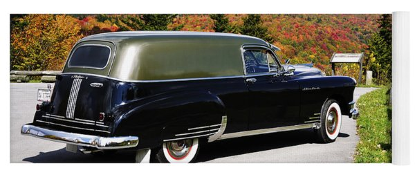 '49 Silver Streak With A View Yoga Mat