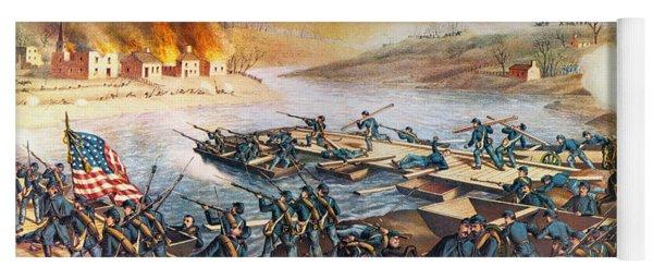 Battle Of Fredericksburg Yoga Mat