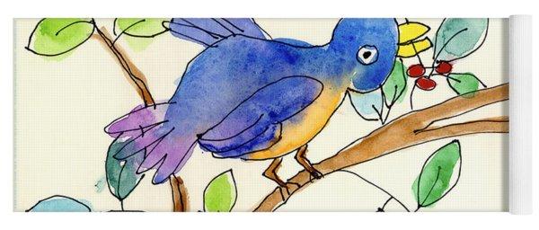 A Bird Yoga Mat