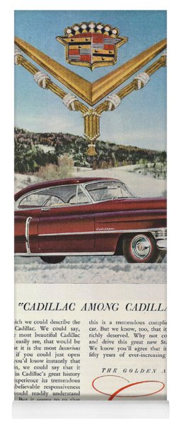 A Cadillac Among Cadillacs 1952 Yoga Mat