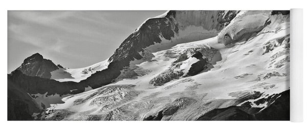 A Glacier In Jasper National Park Yoga Mat