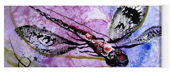 Abstract Dragonfly 6 Yoga Mat